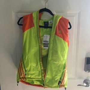 NWT - Women's Adidas Hooded Outdoor Vest